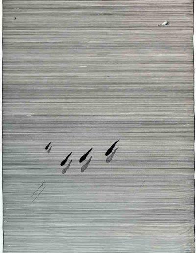 1979_80 Eugeniusz Józefowski, rysunek tuszem, cykl Sześć niekonsekwentnych obsesji, 50 x 70 cm 007