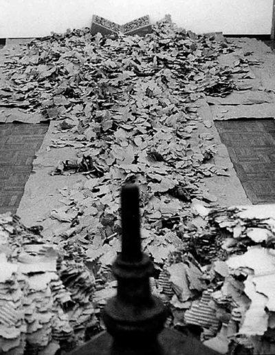 1992 Eugeniusz Józefowski, Instalacje książkowe, Galeria Sztuki Współczesnej w Opolu 04