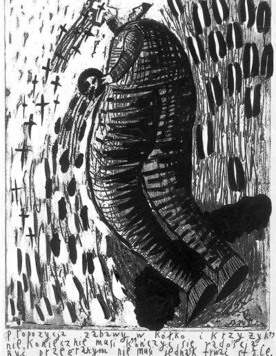 1999 Eugeniusz Józefowski, Bzdurnik z obrazkami, format 10,5 x 14 cm strona 02