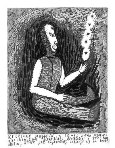 1999 Eugeniusz Józefowski, Bzdurnik z obrazkami, format 10,5 x 14 cm strona 03