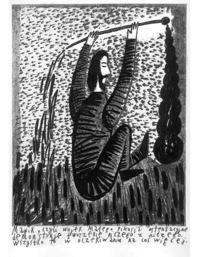 1999 Eugeniusz Józefowski, Bzdurnik z obrazkami, format 10,5 x 14 cm strona 04