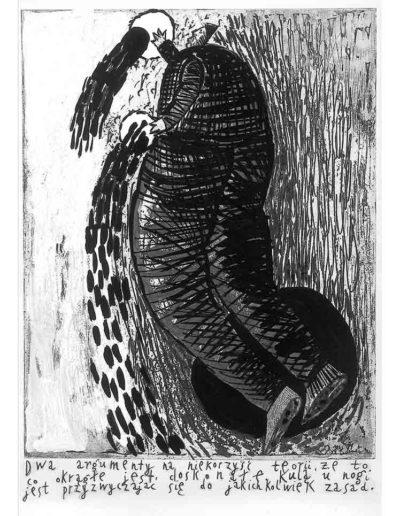 1999 Eugeniusz Józefowski, Bzdurnik z obrazkami, format 10,5 x 14 cm strona 08