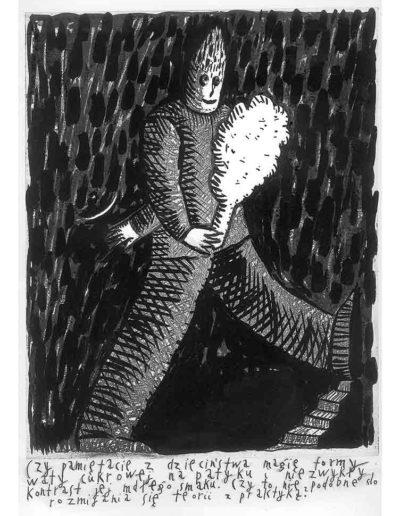 1999 Eugeniusz Józefowski, Bzdurnik z obrazkami, format 10,5 x 14 cm strona 12