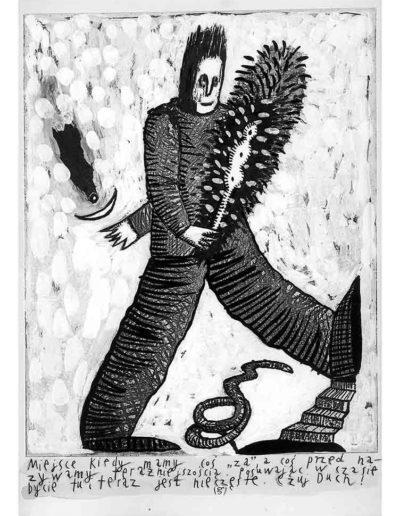 1999 Eugeniusz Józefowski, Bzdurnik z obrazkami, format 10,5 x 14 cm strona 13