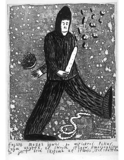 1999 Eugeniusz Józefowski, Bzdurnik z obrazkami, format 10,5 x 14 cm strona 14