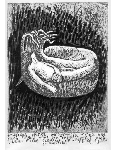 1999 Eugeniusz Józefowski, Bzdurnik z obrazkami, format 10,5 x 14 cm strona 16
