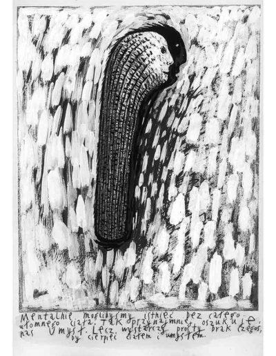 1999 Eugeniusz Józefowski, Bzdurnik z obrazkami, format 10,5 x 14 cm strona 17