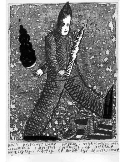 1999 Eugeniusz Józefowski, Bzdurnik z obrazkami, format 10,5 x 14 cm strona 18