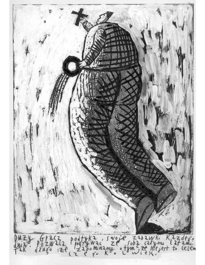 1999 Eugeniusz Józefowski, Bzdurnik z obrazkami, format 10,5 x 14 cm strona 20