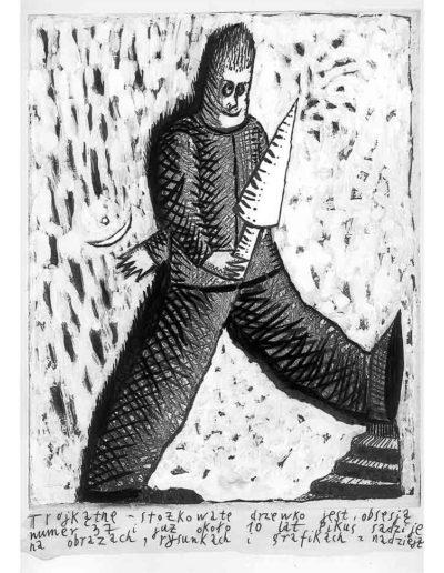1999 Eugeniusz Józefowski, Bzdurnik z obrazkami, format 10,5 x 14 cm strona 21