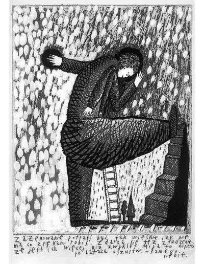 1999 Eugeniusz Józefowski, Bzdurnik z obrazkami, format 10,5 x 14 cm strona 24