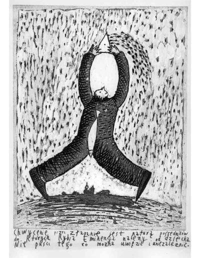 1999 Eugeniusz Józefowski, Bzdurnik z obrazkami, format 10,5 x 14 cm strona 25