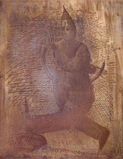1999 Eugeniusz Józefowski, Strona matryca książki z metalu 25