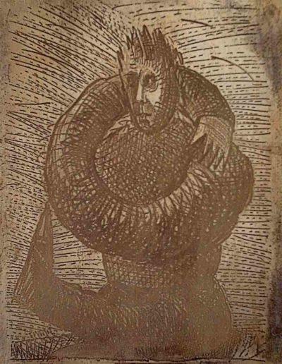 1999 Eugeniusz Józefowski, Strona matryca książki z metalu 29