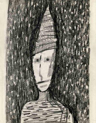 2000 Eugeniusz Józefowski ,Rysunek ze Szkicownika warszawskiego_1