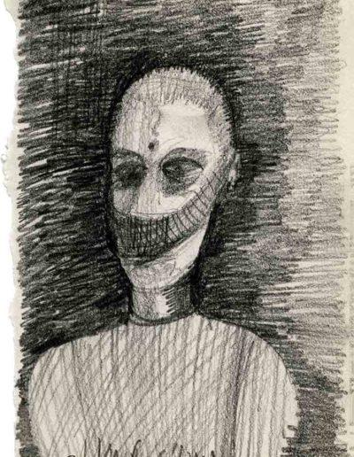 2000 Eugeniusz Józefowski ,Rysunek ze Szkicownika warszawskiego_6