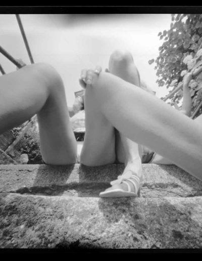 2003 Eugeniusz Józefowski, Moda nie do noszenia, Plener w Przesiece, Góry Karkonosze 001