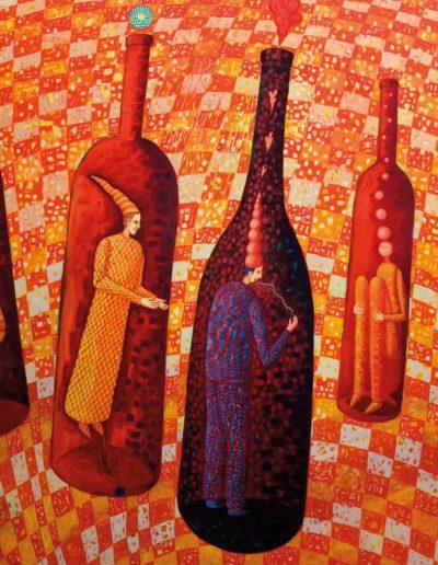 2005 Eugeniusz Józefowski, obraz 170 x 200 cm