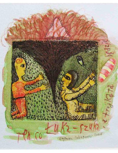 2006 Eugeniusz Józefowski, Ten, co Łuka - szuka, a trójkąta będzie
