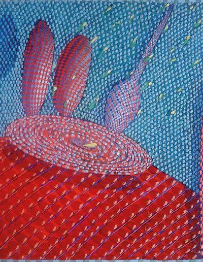 2009 Eugeniusz Józefowski Abstrakcyjność martwych natur, olej na płótnie, 60 x 100 cm