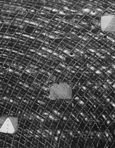 2014 Eugeniusz Józefowski, Five screens Pięć ekranów, rysunek tuszem na papierze akwarelowym