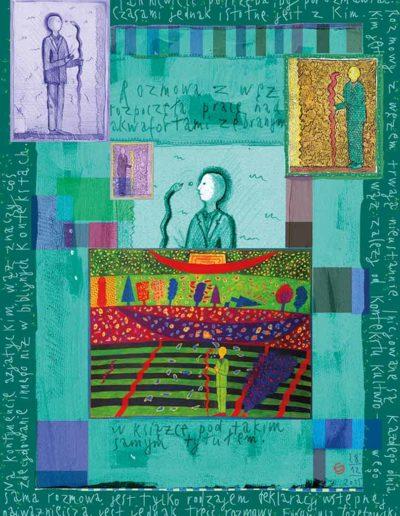2015_1999_1987_02 Szkicownik paryski II Rozmowy z węzem, 6 x 8 cm