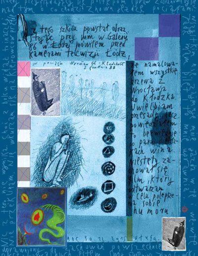 2015_1999_1987_07 Szkicownik paryski II Uprawniony do zachowań powszechnie akcepowalnych, 6 x 8 cm