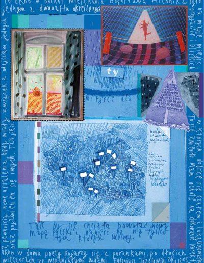 2015_1999_1987_08 Szkicownik paryski II Okno w domu poety, 6 x 8 cm