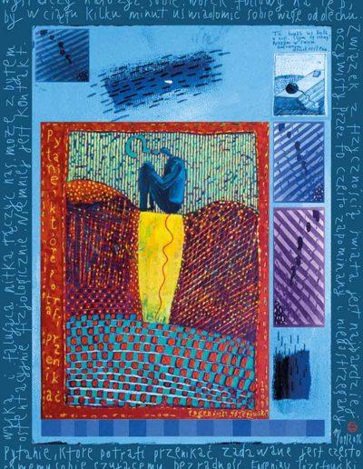 2015_1999_1987_15 Szkicownik paryski II Pytanie, 6 x 8 cm