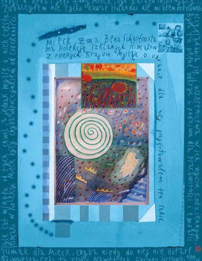 2015_1999_1987_16 Szkicownik paryski II Ślimak dla Mieck, 6 x 8 cm