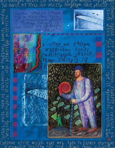 2015_1999_1987_22 Szkicownik paryski II Codzienne ostrze, 6 x 8 cm