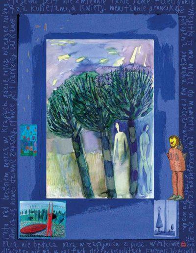 2015_1999_1987_31 Para nie będąca parą Szkicownik paryski, 30 x 40 cm
