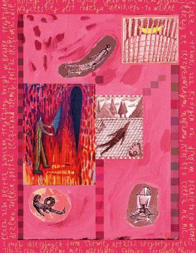 2015_1999_1987_41 Szkicownik paryski Z grupą obsesyjnych form, 6 x 8 cm