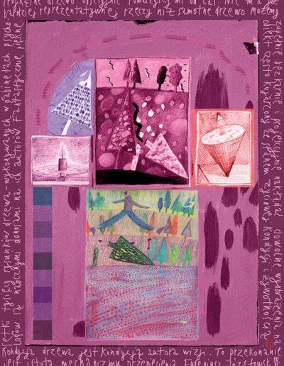 2015_1999_1987_44 Szkicownik paryski Kondycja drzewa jest kondycją autora, 6 x 8 cm