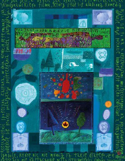 2015_1999_1987_45 Szkicownik paryski Symbole, które nic nie mówią, 6 x 8 cm