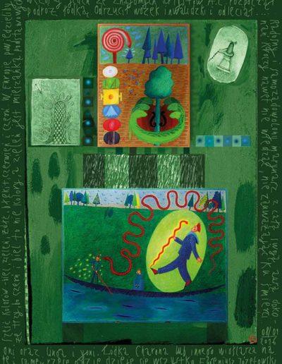 2015_1999_1987_47 Szkicownik paryski Oni oraz linga i yoni, 6 x 8 cm