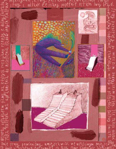 2015_1999_1987_48 Szkicownik paryski Dwie stopy, 6 x 8 cm