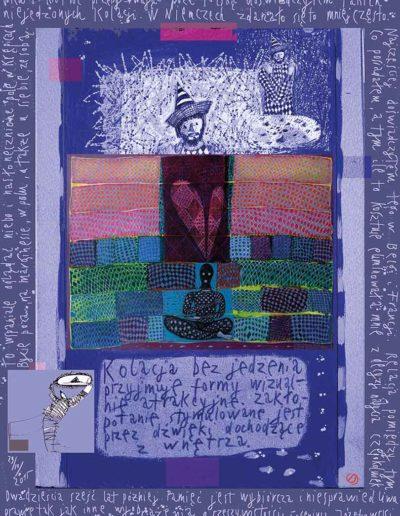 2015_1999_1989_08 Kolacja bez jedzenia, 7,5 x 10 cm