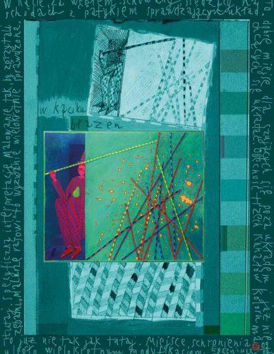 2015_1999_1989_20 Błazen z dużymi patykami, 7,5 x 10 cm