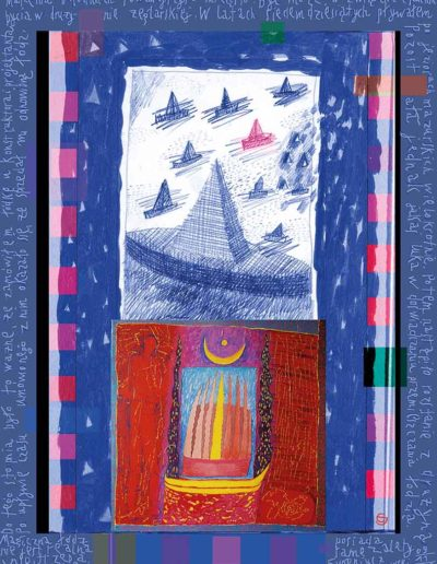 2015_1999_1989_25 Magiczna łódź, 7,5 x 10 cm