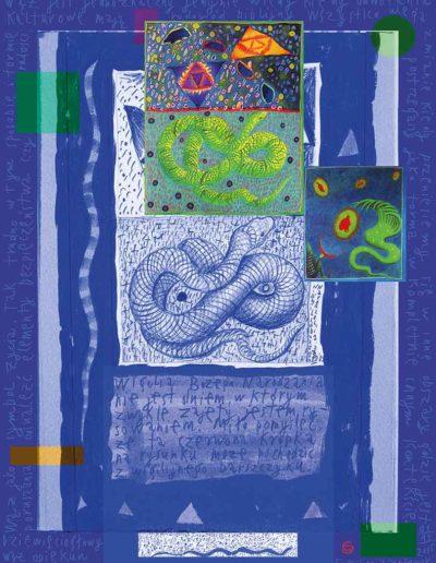 2015_1999_1989_26 Wąż, 7,5 x 10 cm