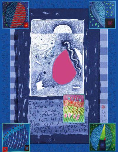 2015_1999_1989_28 Alfabet Pana Bronka, 7,5 x 10 cm