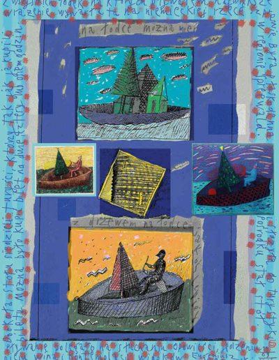 2015_1999_1989_37 Pływanie, 7,5 x 10 cm