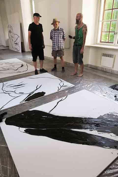 26 Sympozjum artystyczne 'Dilna' w Mikulowie, Czechy, fot Jaroslav Beneš_03