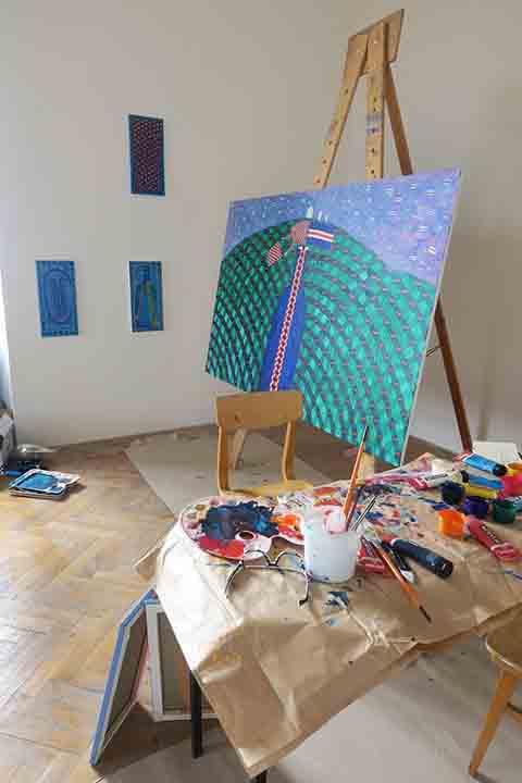 26 Sympozjum artystyczne 'Dilna' w Mikulowie, Czechy, fot Jaroslav Beneš_05